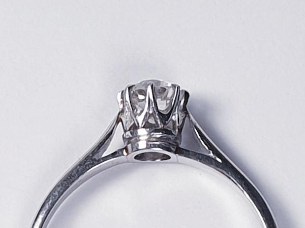 Old Cut Diamond Engagement Ring SKU: 3235   DBGEMS - image 4
