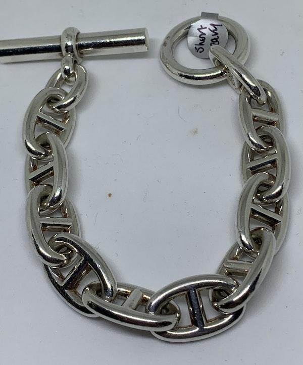 Chaine D'Ancre Hermes bracelet - image 1