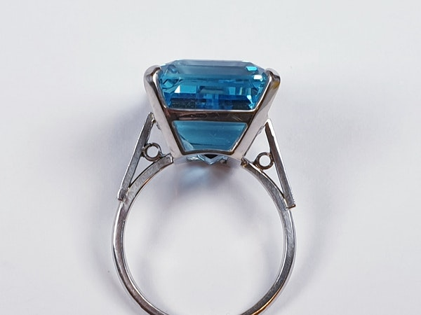 Aquamarine Dress Ring  DBGEMS - image 5