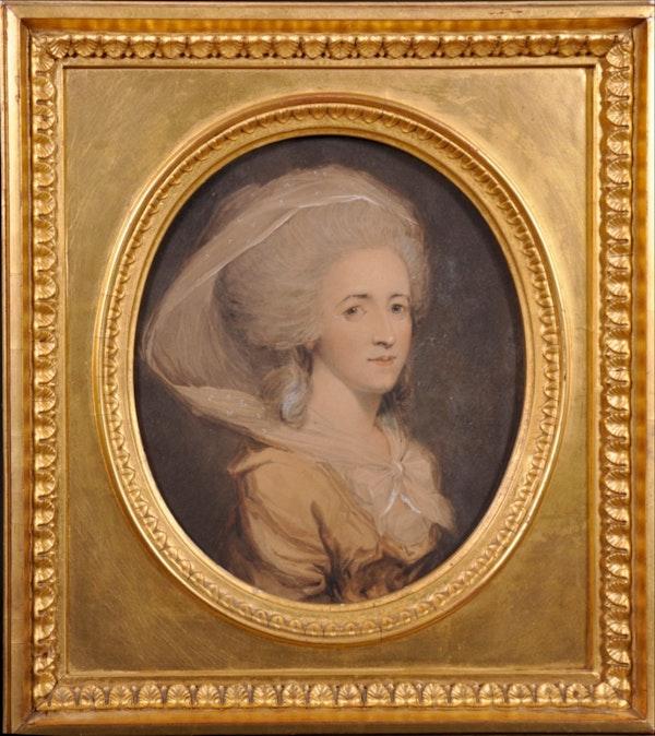 John Downman ARA Portrait of a Lady. - image 1