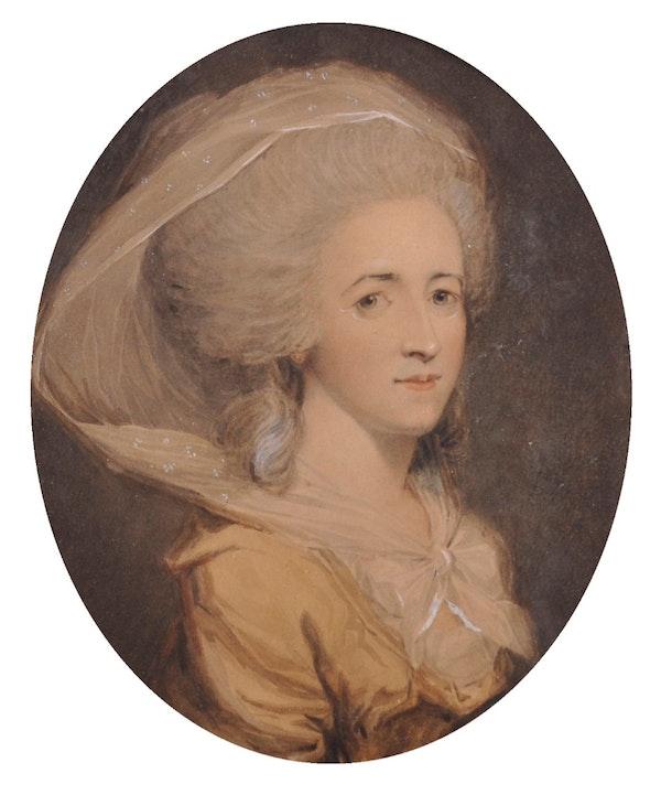 John Downman ARA Portrait of a Lady. - image 2