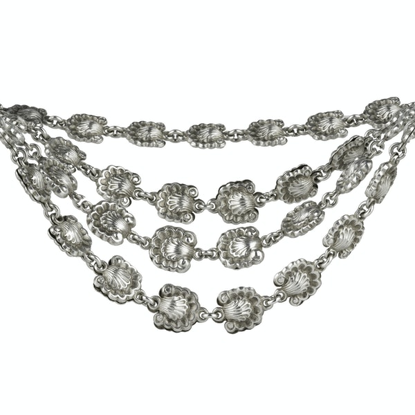 Early 19th Century Silver Chain - image 2