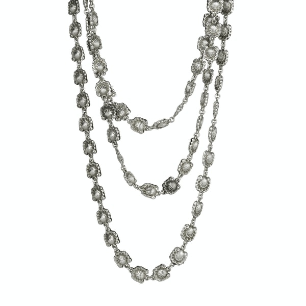 Early 19th Century Silver Chain - image 1