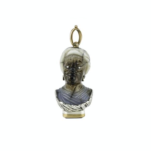 Antique Blackamoor Seal - image 1