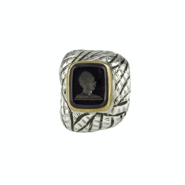 Antique Blackamoor Seal - image 3