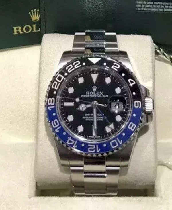 Rolex GMT 116710 BLNR BatMan - image 1