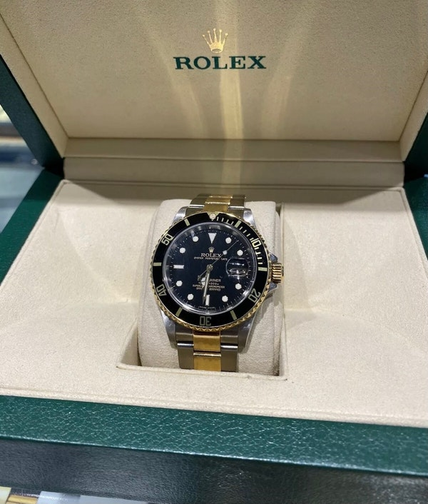 Rolex 16613 Submariner Steel & Gold 2001 - image 1