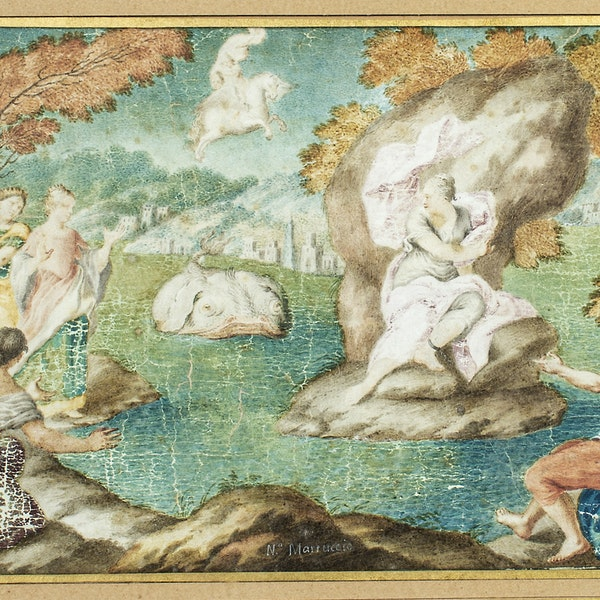 17th.Century Italian School Perseus and Andromeda - image 2