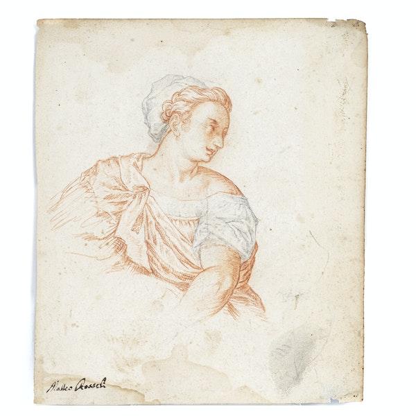 Matteo Roselli 17th.Century Chalk Drawing - image 1
