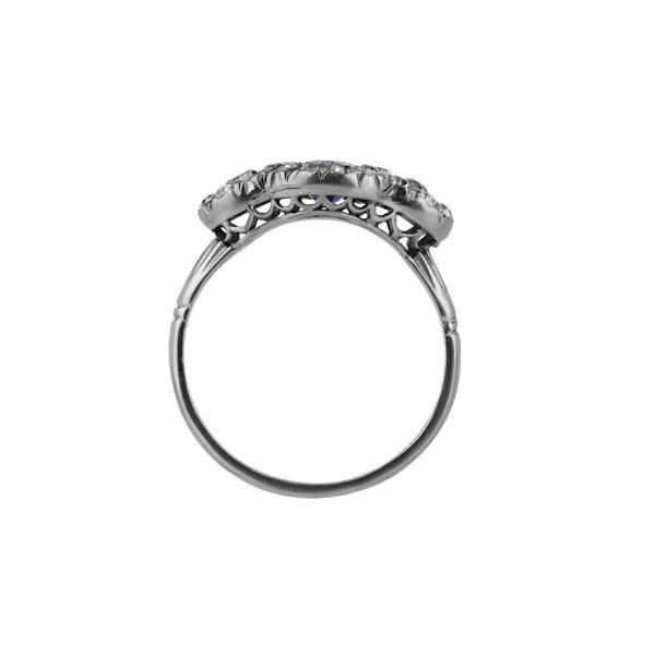 Sapphire & Diamond Ring - image 2