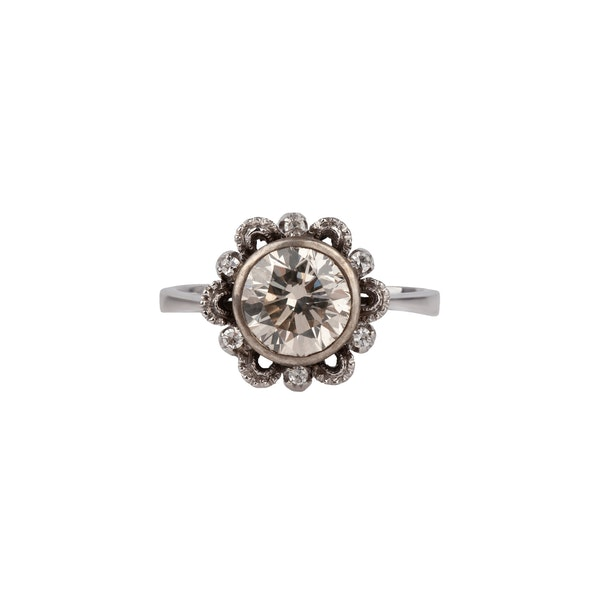 1.71ct Diamond ring - image 1