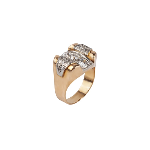 French 1940,s diamond ring - image 1