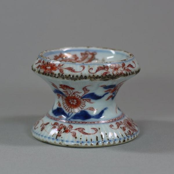 Chinese Imari ribbed armorial salt, Yonzheng (1723-1735) - image 5