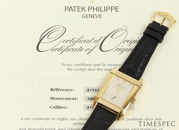 Patek Philippe Gondolo 5111J/001 18k Yellow Gold With Papers - image 6