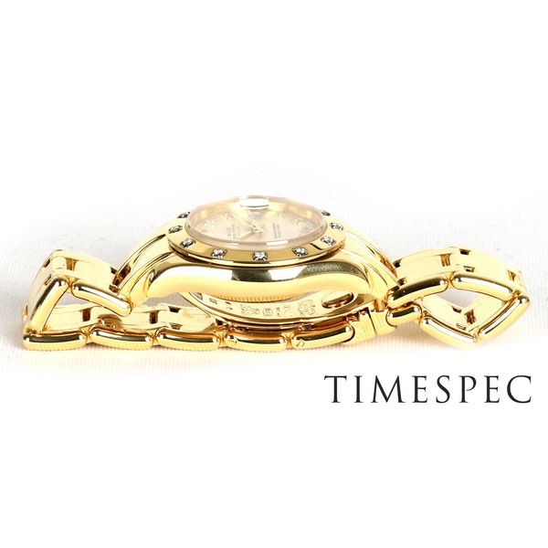 Rolex Lady Pearl-master 18K Yellow Gold & Bracelet 80319 - image 4