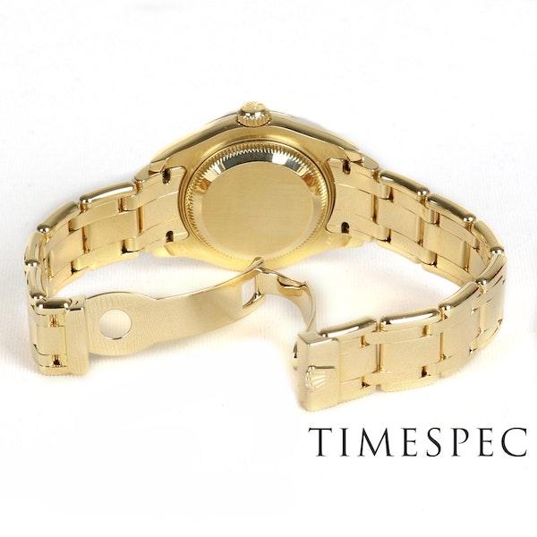 Rolex Lady Pearl-master 18K Yellow Gold & Bracelet 80319 - image 6