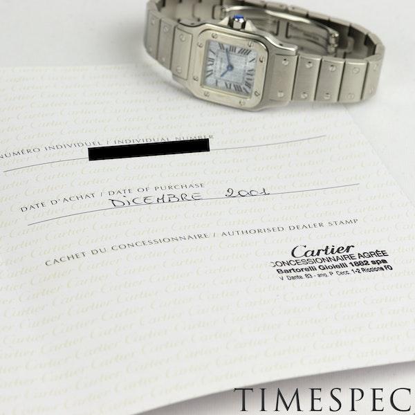 Cartier Santos Galbée Small Size, 24mm, Anniversary Logo Dial - image 6