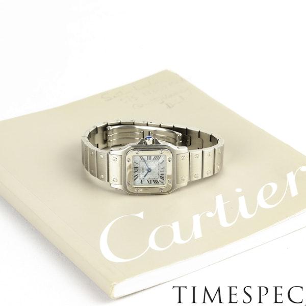 Cartier Santos Galbée Small Size, 24mm, Anniversary Logo Dial - image 5