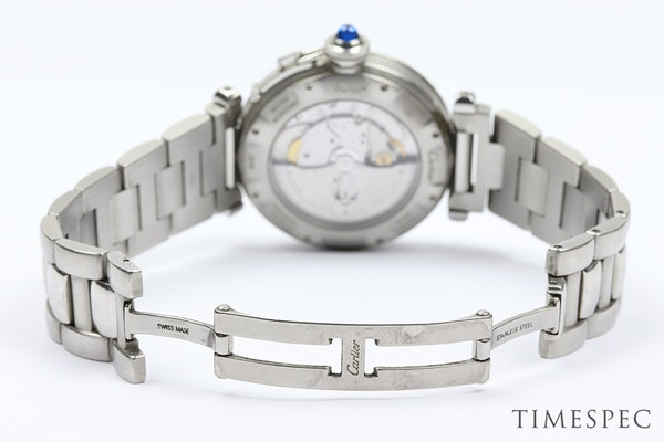 Cartier Pasha, 38mm, Stainless Steel,with Steel Bracelet Automatic - image 5
