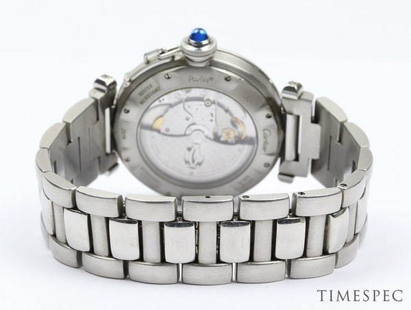 Cartier Pasha, 38mm, Stainless Steel,with Steel Bracelet Automatic - image 2