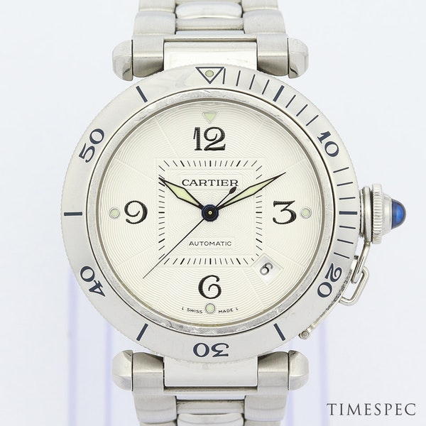 Cartier Pasha, 38mm, Stainless Steel,with Steel Bracelet Automatic - image 1