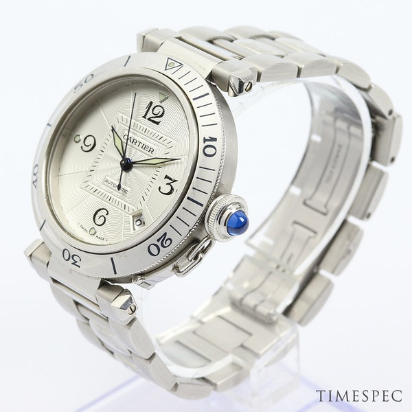 Cartier Pasha, 38mm, Stainless Steel,with Steel Bracelet Automatic - image 3