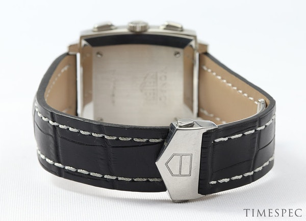 TAG Heuer Monaco Chronograph First Re-Edition Black Dial - image 5