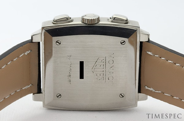 TAG Heuer Monaco Chronograph First Re-Edition Black Dial - image 4