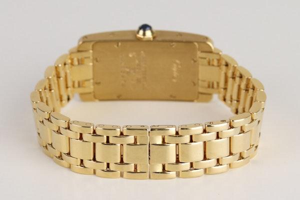 Cartier Tank AMÉRICAINE. Small model.18K Yellow Gold Quartz movement, Ladies - image 4