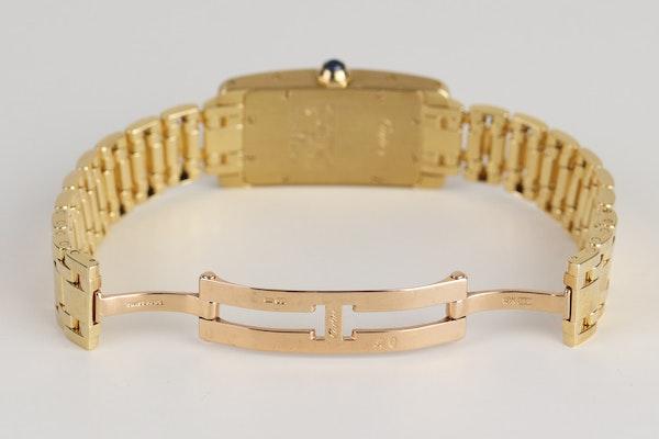 Cartier Tank AMÉRICAINE. Small model.18K Yellow Gold Quartz movement, Ladies - image 5