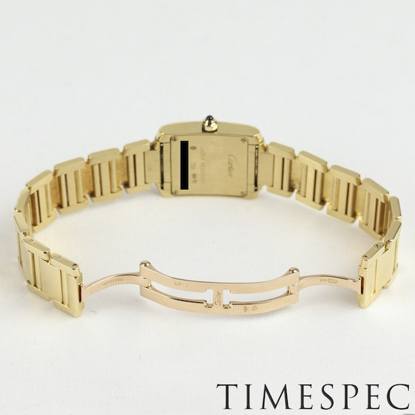 Cartier Tank Française Ladies 18k Yellow Gold, 20mm, Small Size - image 6