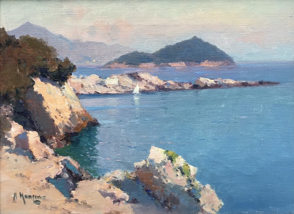 Aleksei Vasilievich Hanzen (Russian 1876-1937), South of France Seascape - image 1