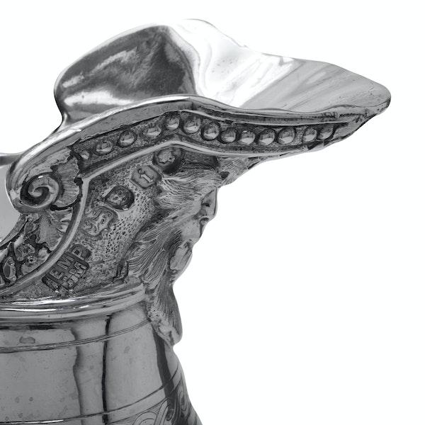 Stunning silver Bacchus wine jug. - image 4