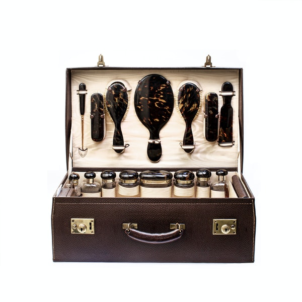 A museum quality travel case by Henry Dumenil - image 1