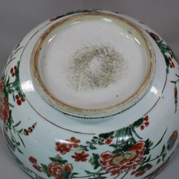 Chinese famille verte cockerel circular tureen and cover, Kangxi (1662-1722) - image 7