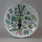 Large Chinese famille-verte dish, early Kangxi (1662-1722) - image 1