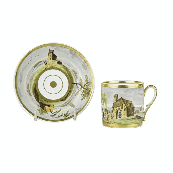Cup/saucer coffee french - image 1
