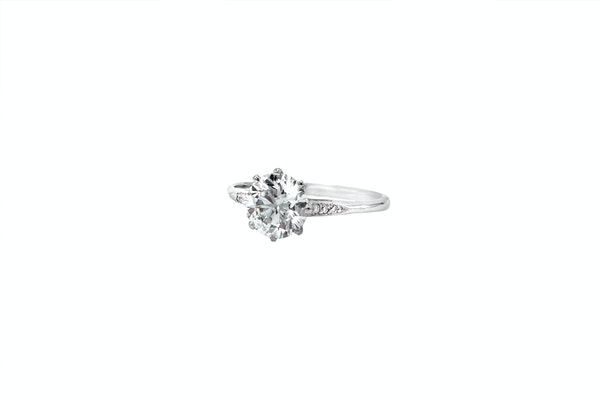 Diamond Solitaire Ring - image 3