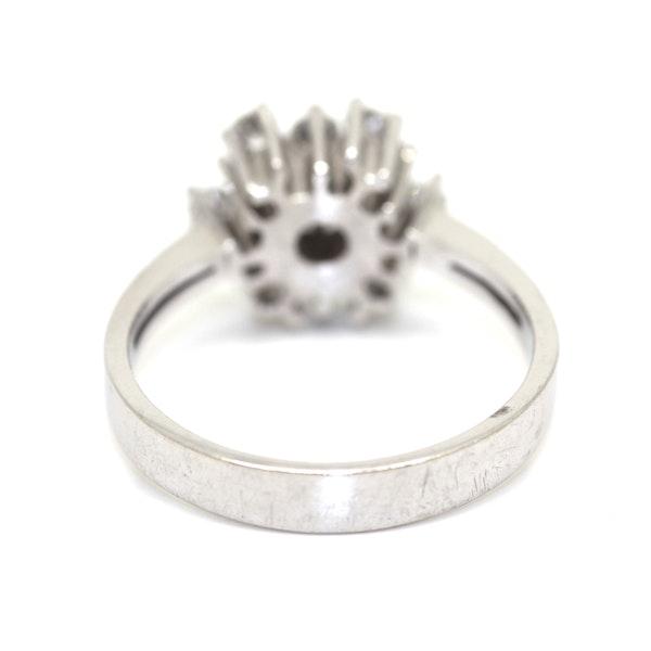 Modern Diamond Cluster Ring. S.Greenstein - image 3