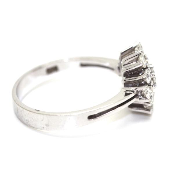 Modern Diamond Cluster Ring. S.Greenstein - image 4