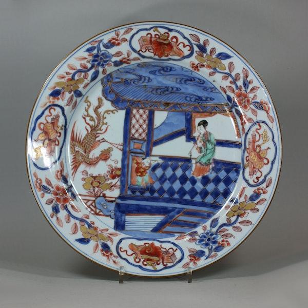 Chinese Verte Imari verte dish, Yongzheng, circa 1730 - image 1