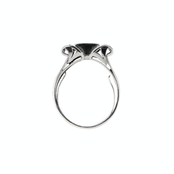 Art Deco diamond ring - image 2