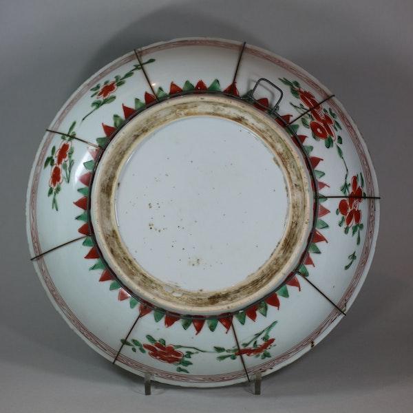 Chinese famille verte dish, early Kangxi (1662-1722) - image 2