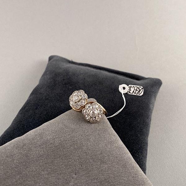 1950's, 18ct Yellow Gold and Diamond stone set Ring, SHAPIRO & Co since1979 - image 1