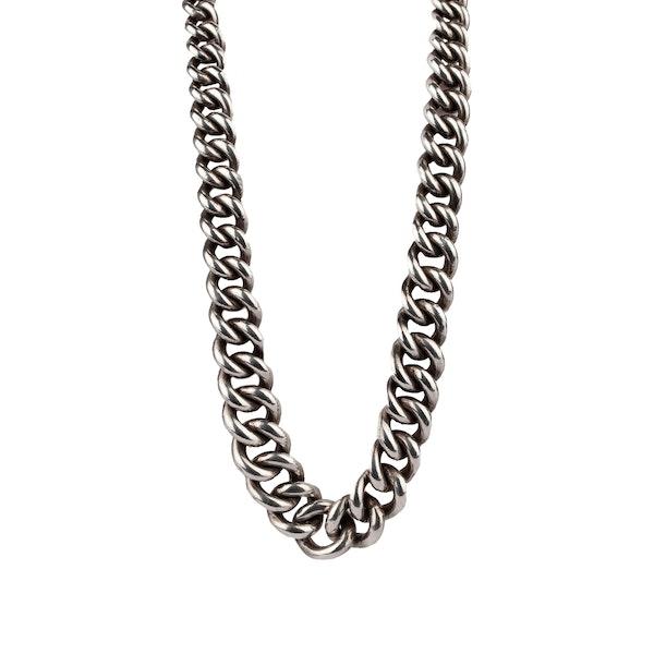 Victorian silver chain - image 1
