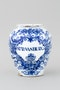 A GOOD DUTCH DELFT JAR, EARLY 18TH CENTURY - image 1