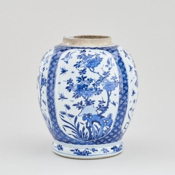 A CHINESE KANGXI BLUE AND WHITE JAR, KANGXI (1662 - 1722) - image 1
