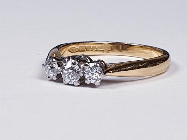 Three Stone Diamond Ring 2754  DBGEMS - image 4