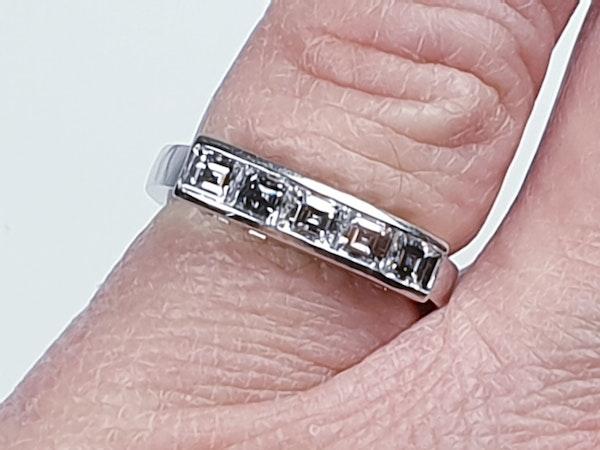 Square diamond line ring  sku 4408   DBGEMS - image 4