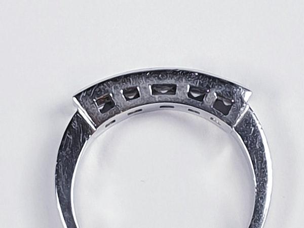 Square diamond line ring  sku 4408   DBGEMS - image 5